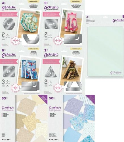 Gemini - Double Sided Box Dies & Gemini Cutting Plates by Crafter's Companion